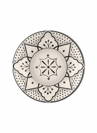 The Mia Maroc Çerezlik 2li Set - 13 cm Beyaz